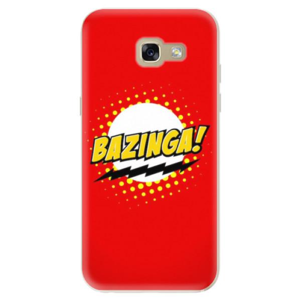 Odolné silikonové pouzdro iSaprio - Bazinga 01 - Samsung Galaxy A5 2017