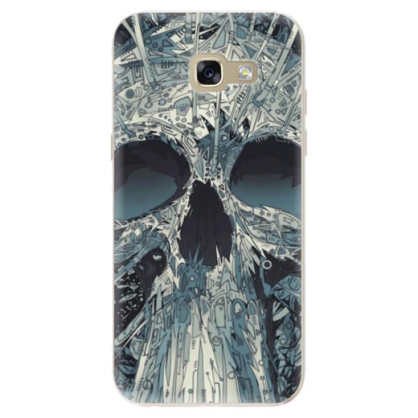 Odolné silikonové pouzdro iSaprio - Abstract Skull - Samsung Galaxy A5 2017