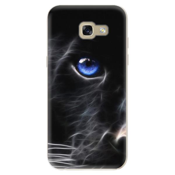 Odolné silikonové pouzdro iSaprio - Black Puma - Samsung Galaxy A5 2017