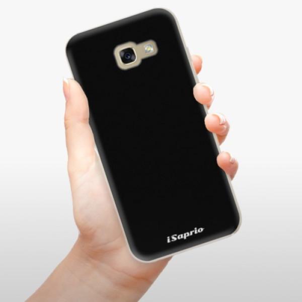Odolné silikonové pouzdro iSaprio - 4Pure - černý - Samsung Galaxy A5 2017