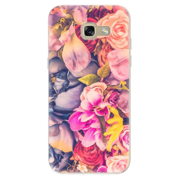 Odolné silikonové pouzdro iSaprio - Beauty Flowers - Samsung Galaxy A5 2017