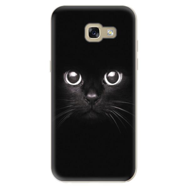 Odolné silikonové pouzdro iSaprio - Black Cat - Samsung Galaxy A5 2017