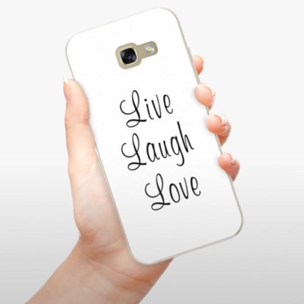 Odolné silikonové pouzdro iSaprio - Live Laugh Love - Samsung Galaxy A5 2017