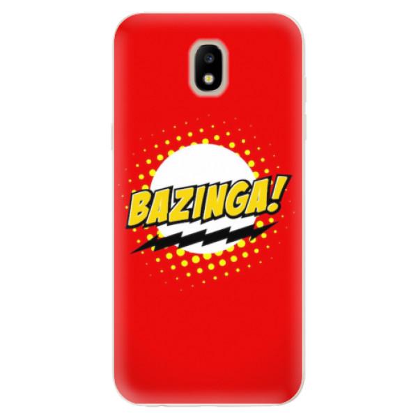 Odolné silikonové pouzdro iSaprio - Bazinga 01 - Samsung Galaxy J5 2017