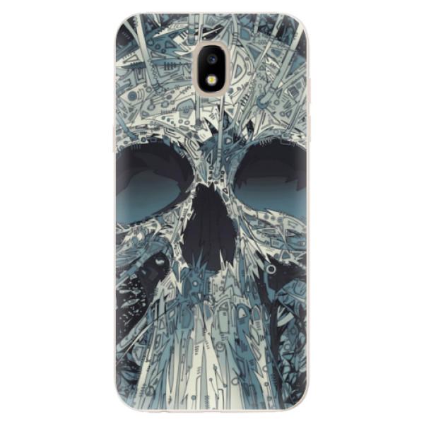 Odolné silikonové pouzdro iSaprio - Abstract Skull - Samsung Galaxy J5 2017