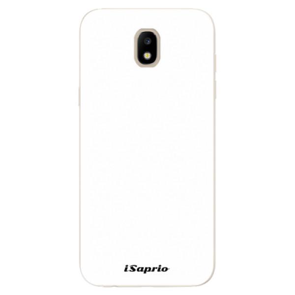 Odolné silikonové pouzdro iSaprio - 4Pure - bílý - Samsung Galaxy J5 2017