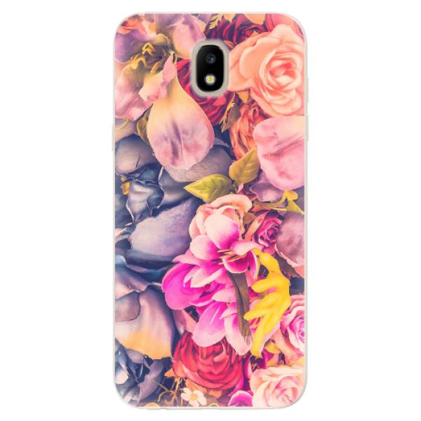 Odolné silikonové pouzdro iSaprio - Beauty Flowers - Samsung Galaxy J5 2017
