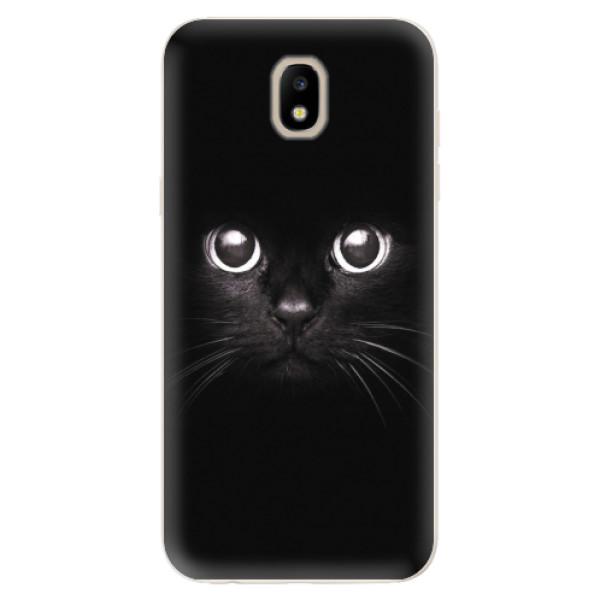Odolné silikonové pouzdro iSaprio - Black Cat - Samsung Galaxy J5 2017