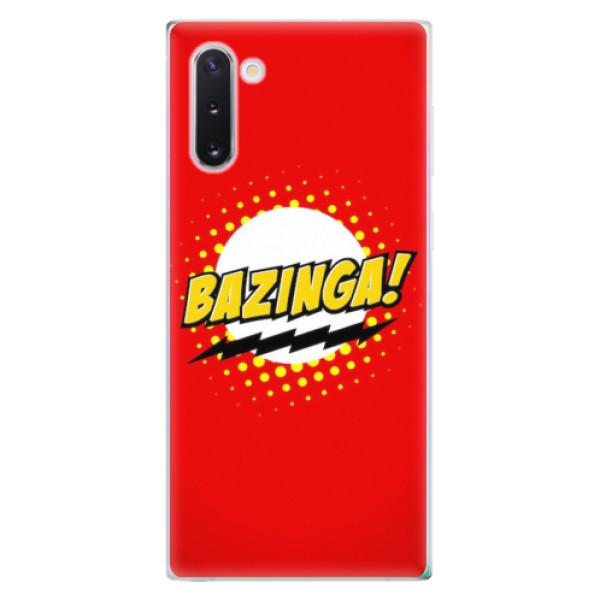 Odolné silikonové pouzdro iSaprio - Bazinga 01 - Samsung Galaxy Note 10