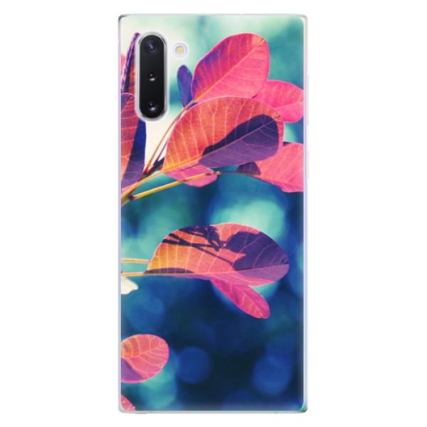 Odolné silikonové pouzdro iSaprio - Autumn 01 - Samsung Galaxy Note 10