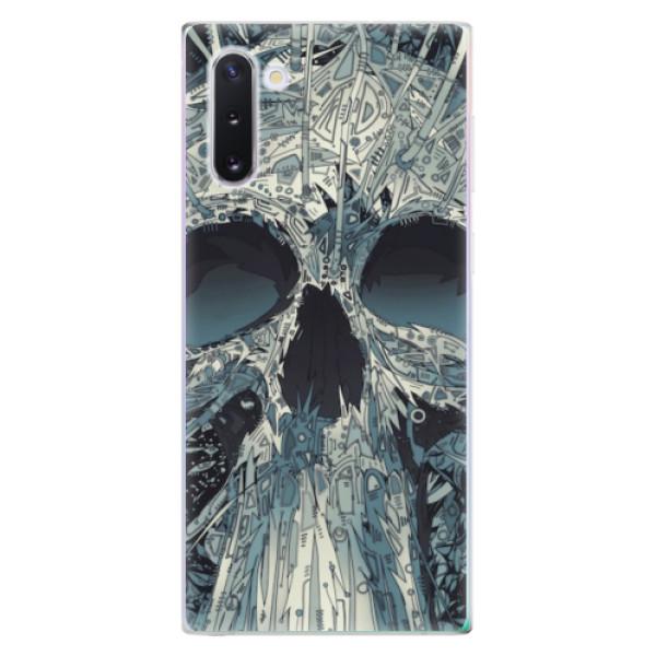 Odolné silikonové pouzdro iSaprio - Abstract Skull - Samsung Galaxy Note 10