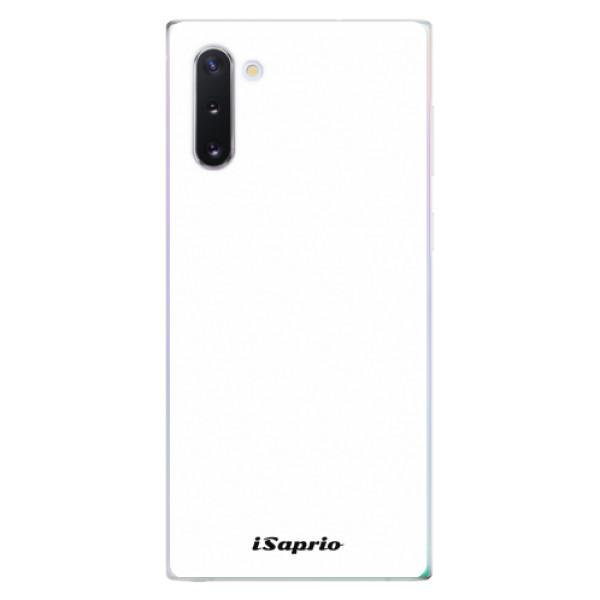 Odolné silikonové pouzdro iSaprio - 4Pure - bílý - Samsung Galaxy Note 10