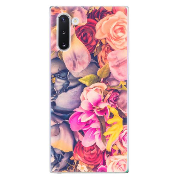 Odolné silikonové pouzdro iSaprio - Beauty Flowers - Samsung Galaxy Note 10