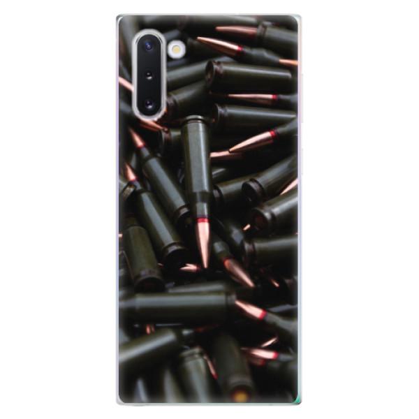 Odolné silikonové pouzdro iSaprio - Black Bullet - Samsung Galaxy Note 10