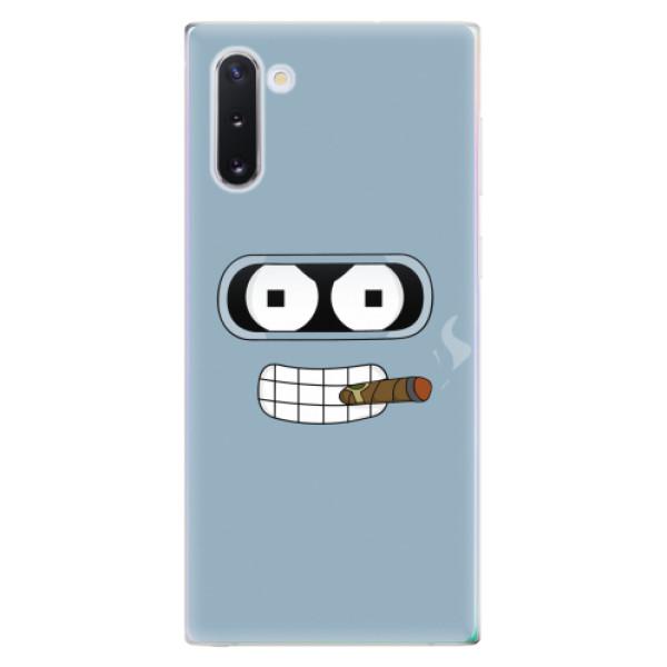 Odolné silikonové pouzdro iSaprio - Bender - Samsung Galaxy Note 10