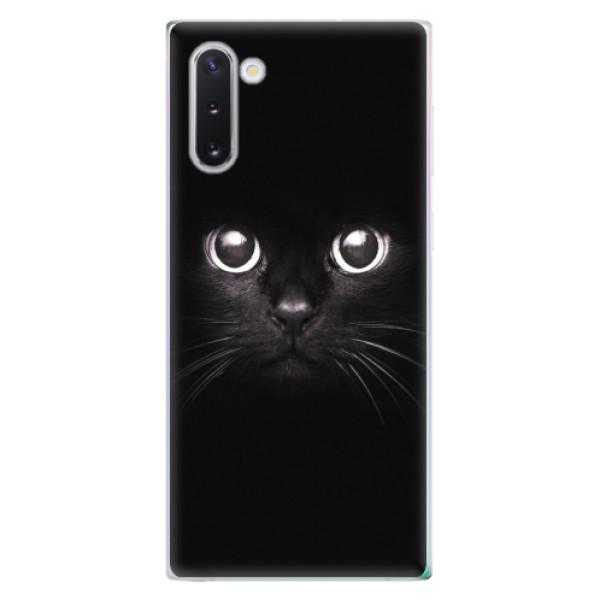 Odolné silikonové pouzdro iSaprio - Black Cat - Samsung Galaxy Note 10