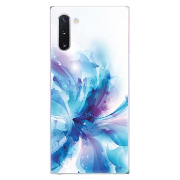 Odolné silikonové pouzdro iSaprio - Abstract Flower - Samsung Galaxy Note 10