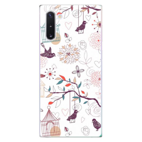 Odolné silikonové pouzdro iSaprio - Birds - Samsung Galaxy Note 10