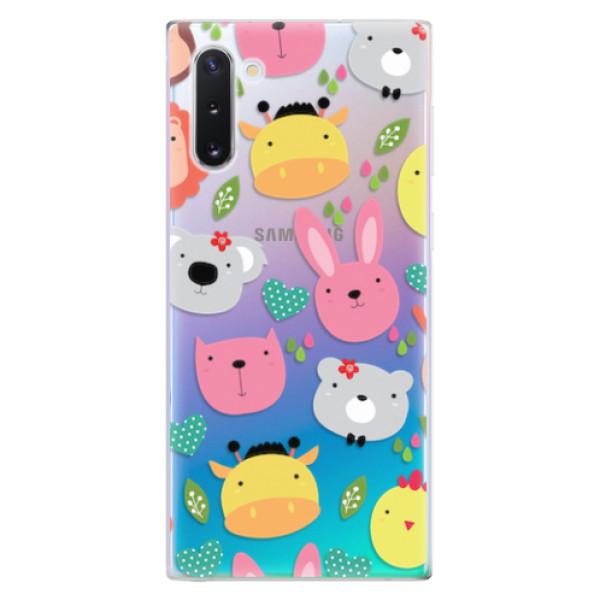 Odolné silikonové pouzdro iSaprio - Animals 01 - Samsung Galaxy Note 10