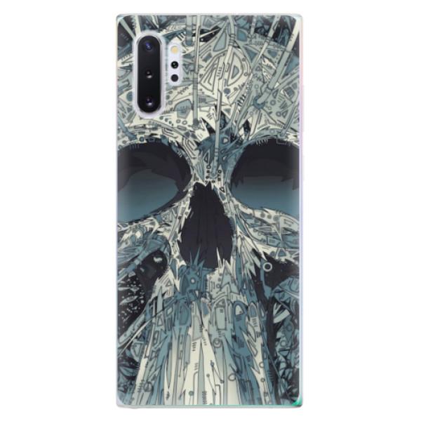 Odolné silikonové pouzdro iSaprio - Abstract Skull - Samsung Galaxy Note 10+