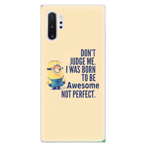 Odolné silikonové pouzdro iSaprio - Be Awesome - Samsung Galaxy Note 10+