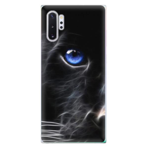 Odolné silikonové pouzdro iSaprio - Black Puma - Samsung Galaxy Note 10+