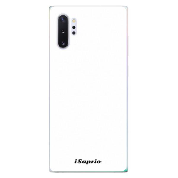 Odolné silikonové pouzdro iSaprio - 4Pure - bílý - Samsung Galaxy Note 10+
