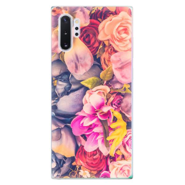 Odolné silikonové pouzdro iSaprio - Beauty Flowers - Samsung Galaxy Note 10+