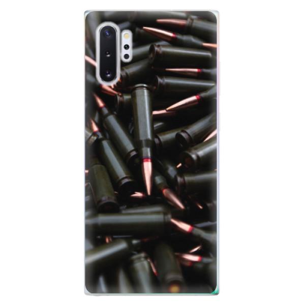 Odolné silikonové pouzdro iSaprio - Black Bullet - Samsung Galaxy Note 10+