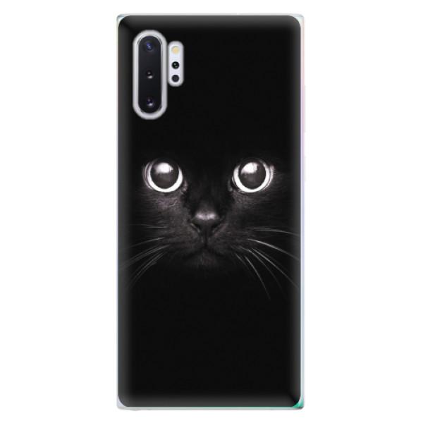 Odolné silikonové pouzdro iSaprio - Black Cat - Samsung Galaxy Note 10+