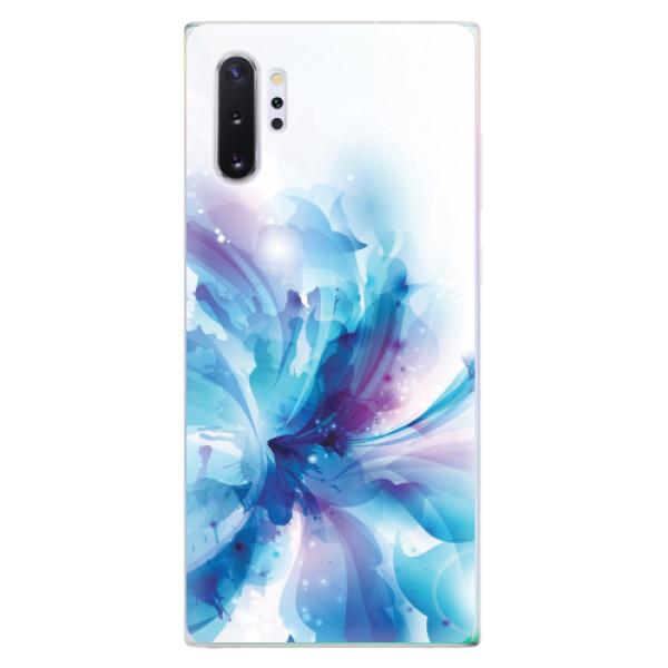 Odolné silikonové pouzdro iSaprio - Abstract Flower - Samsung Galaxy Note 10+