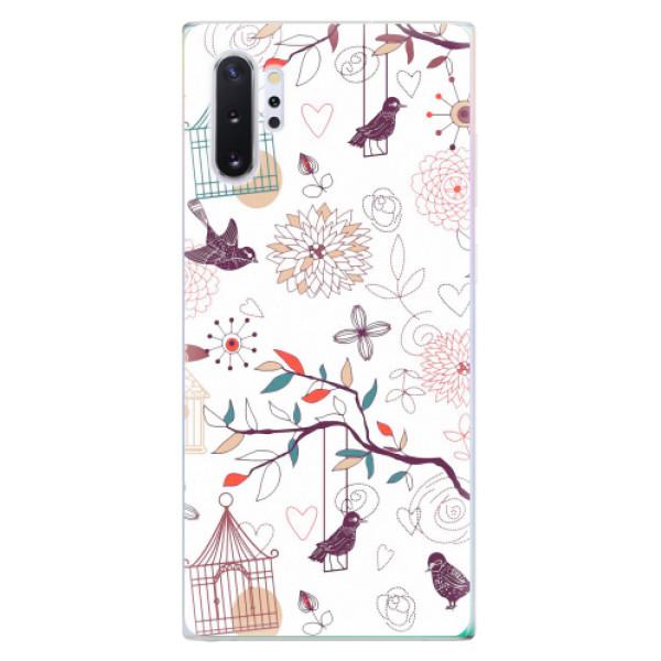 Odolné silikonové pouzdro iSaprio - Birds - Samsung Galaxy Note 10+