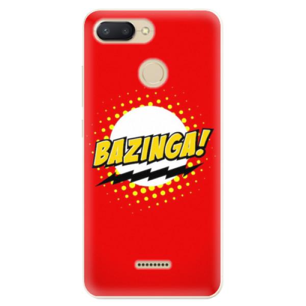 Odolné silikonové pouzdro iSaprio - Bazinga 01 - Xiaomi Redmi 6