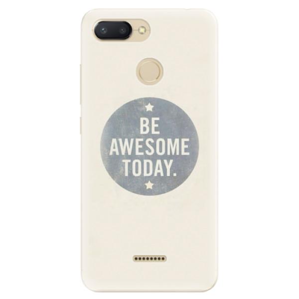 Odolné silikonové pouzdro iSaprio - Awesome 02 - Xiaomi Redmi 6