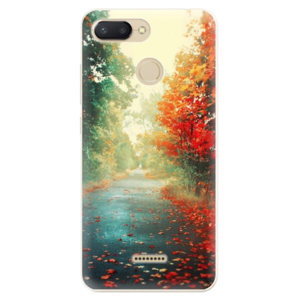 Odolné silikonové pouzdro iSaprio - Autumn 03 - Xiaomi Redmi 6
