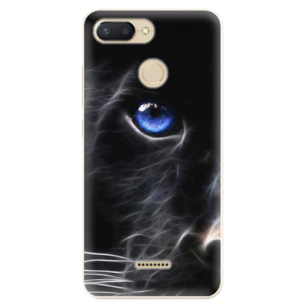 Odolné silikonové pouzdro iSaprio - Black Puma - Xiaomi Redmi 6