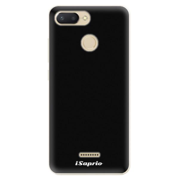 Odolné silikonové pouzdro iSaprio - 4Pure - černý - Xiaomi Redmi 6