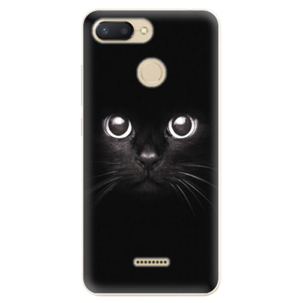 Odolné silikonové pouzdro iSaprio - Black Cat - Xiaomi Redmi 6