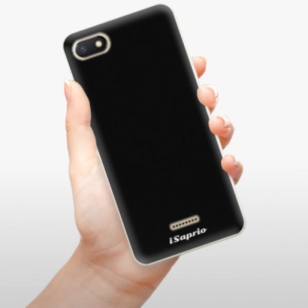 Odolné silikonové pouzdro iSaprio - 4Pure - černý - Xiaomi Redmi 6A