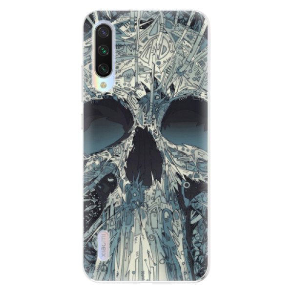 Odolné silikonové pouzdro iSaprio - Abstract Skull - Xiaomi Mi A3
