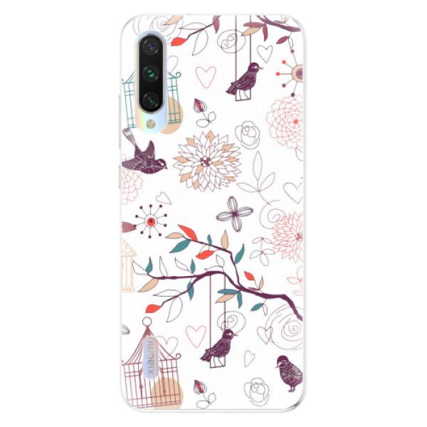 Odolné silikonové pouzdro iSaprio - Birds - Xiaomi Mi A3