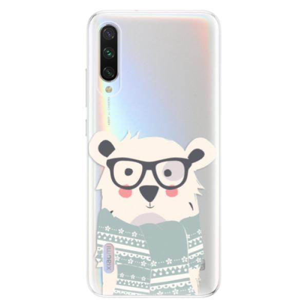 Odolné silikonové pouzdro iSaprio - Bear with Scarf - Xiaomi Mi A3