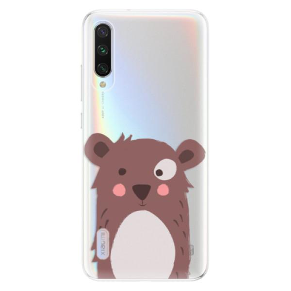 Odolné silikonové pouzdro iSaprio - Brown Bear - Xiaomi Mi A3