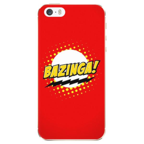 Odolné silikonové pouzdro iSaprio - Bazinga 01 - iPhone 5/5S/SE