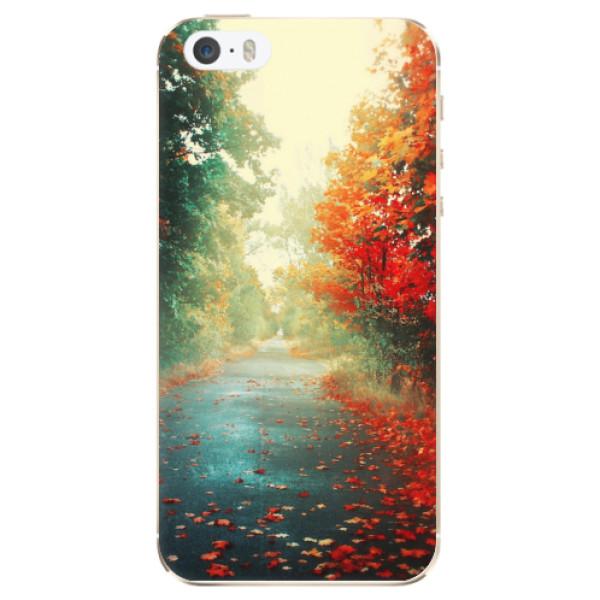 Odolné silikonové pouzdro iSaprio - Autumn 03 - iPhone 5/5S/SE