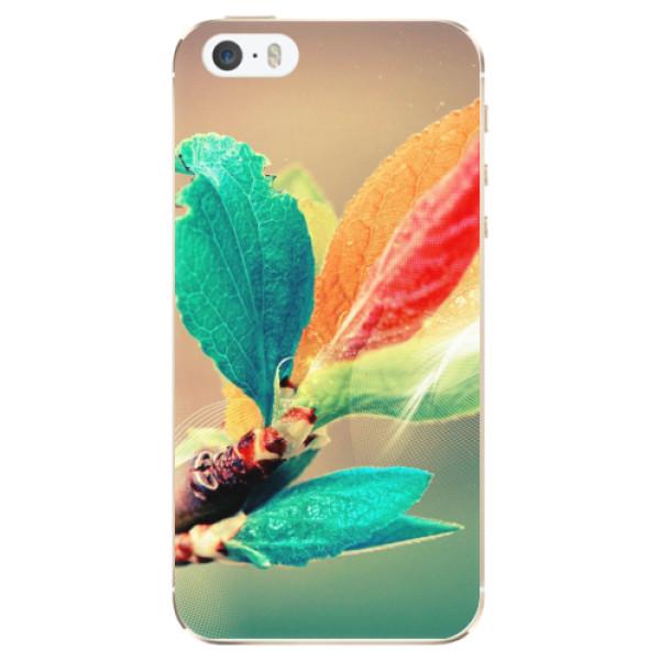 Odolné silikonové pouzdro iSaprio - Autumn 02 - iPhone 5/5S/SE