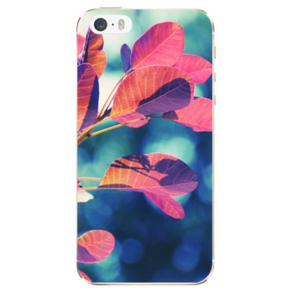 Odolné silikonové pouzdro iSaprio - Autumn 01 - iPhone 5/5S/SE