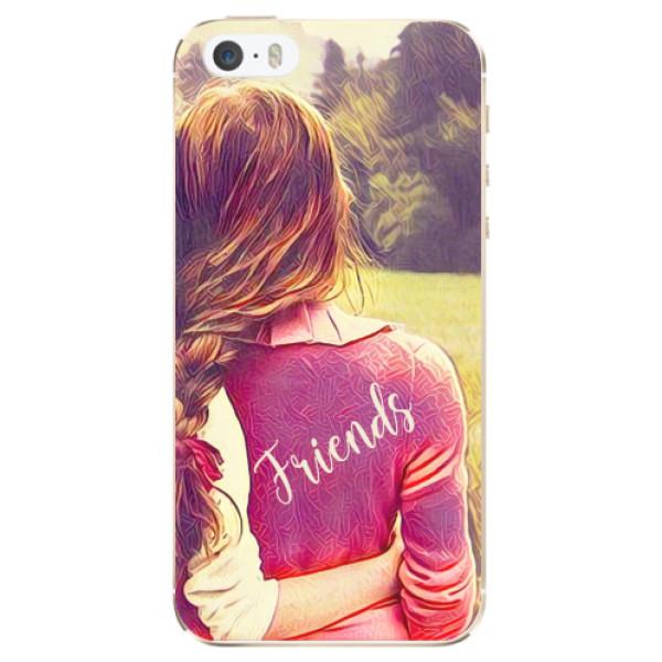Odolné silikonové pouzdro iSaprio - BF Friends - iPhone 5/5S/SE
