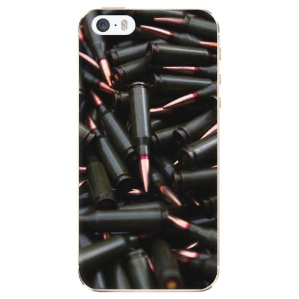 Odolné silikonové pouzdro iSaprio - Black Bullet - iPhone 5/5S/SE