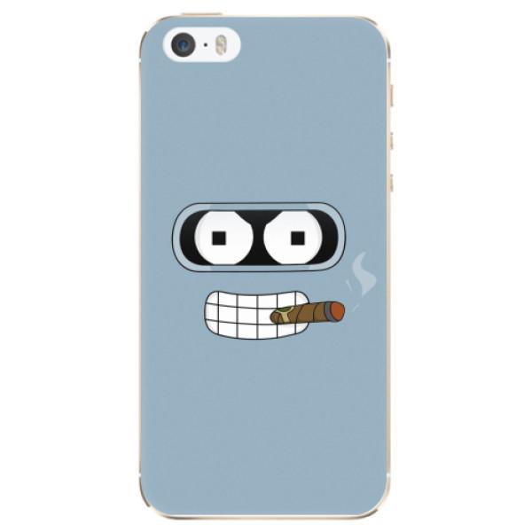 Odolné silikonové pouzdro iSaprio - Bender - iPhone 5/5S/SE